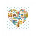 Puzzle-Michele-Wilson-Cuzzle-Z14 Puzzle en Bois - Collection Paris : Le Coeur de Paris