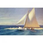 Puzzle-Michele-Wilson-H278-200 Puzzle en Bois - Edward Hopper: Le Bateau à Voile