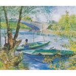 Puzzle  Puzzle-Michele-Wilson-H327-200 Van Gogh Vincent : La pêche au printemps