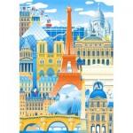 Puzzle-Michele-Wilson-K059-50 Puzzle en Bois découpé à la Main - Paris en Folie