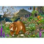 Puzzle-Michele-Wilson-K068-100 Puzzle en Bois - En Montagne