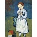 Puzzle-Michele-Wilson-K165-24 Puzzle en Bois découpé à la Main - Pablo Picasso - L'Enfant à la Colombe