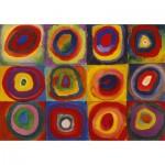 Puzzle-Michele-Wilson-K446-12 Puzzle en Bois découpé à la Main - Kandinsky - Color Study