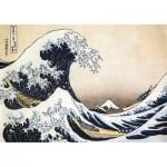 Puzzle-Michele-Wilson-K448-24 Puzzle en Bois découpé à la Main - Hokusai - La Grande Vague