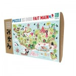 Puzzle-Michele-Wilson-K591-50 Puzzle en Bois découpé à la Main - Île au Trésor