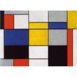 Puzzle-Michele-Wilson-K629-24 Puzzle en Bois découpé à la Main - Mondrian - Composition 123