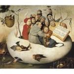 Puzzle en Bois découpé à la Main - Bosch - Le Concert dans l'Oeuf