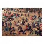 Puzzle en Bois découpé à la Main - Brueghel - Jeux d'Enfants