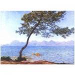Puzzle en Bois découpé à la Main - Claude Monet - Cap d'Antibes