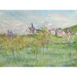Puzzle en Bois découpé à la Main - Claude Monet - Printemps à Giverny