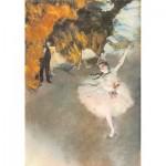 Puzzle en Bois découpé à la Main - Edgar Degas - L'Etoile