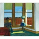 Puzzle en Bois découpé à la Main - Edward Hopper - Chambre à Brooklyn