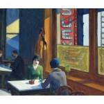 Puzzle en Bois découpé à la Main - Edward Hopper - Chop Suey