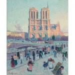 Puzzle en Bois découpé à la Main - Maximilien Luce - Notre Dame