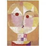 Puzzle en Bois découpé à la Main - Paul Klee - Senecio