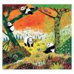 Puzzle en Bois découpé à la Main - Thomas - Les Pandas
