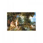 Puzzle en Bois - Jan Bruehgel - Le Jardin d'Eden