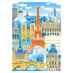 Puzzle  Puzzle-Michele-Wilson-W059-50 Vincent Mahé : Paris en Folie