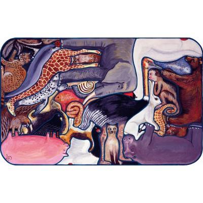 Puzzle Puzzle-Michele-Wilson-W104-24 Dolbeau : Les animaux en Folie