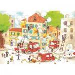 Puzzle  Puzzle-Michele-Wilson-W113-50 Cacouault : Les Pompiers