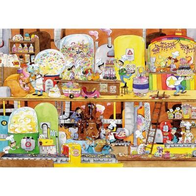 Puzzle Puzzle-Michele-Wilson-W114-100 Cacouault : L'Usine de bonbons