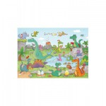 Puzzle  Puzzle-Michele-Wilson-W144-24 Cacouault : Les Dinosaures