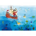 Puzzle  Puzzle-Michele-Wilson-W151-24 Vanvolsem : Les pirates