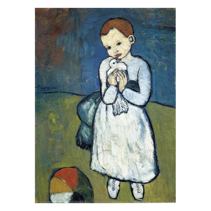 Pablo Picasso : L'enfant à la Colombe