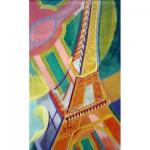 Puzzle  Puzzle-Michele-Wilson-W276-100 Delaunay : La Tour Eiffel