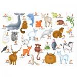 Puzzle  Puzzle-Michele-Wilson-W306-12 Hannah Weeks : L'alphabet des animaux