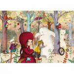Puzzle  Puzzle-Michele-Wilson-W308-24 Lebot Sophie : Rencontre en forêt