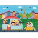 Puzzle-Michele-Wilson-W400-12 Puzzle en Bois - Bonjour Paris