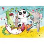 Puzzle-Michele-Wilson-W422-12 Puzzle en Bois - Le Concert des Animaux