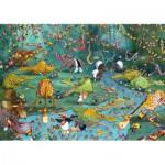 Puzzle-Michele-Wilson-W445-100 Puzzle en Bois - Ruyer : Crocos et Compagnie