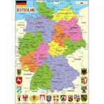 Puzzle  Puzzle-Michele-Wilson-W73-50 Carte de l'Allemagne