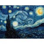Puzzle  Puzzle-Michele-Wilson-W94-50 Van Gogh : Nuit étoilée