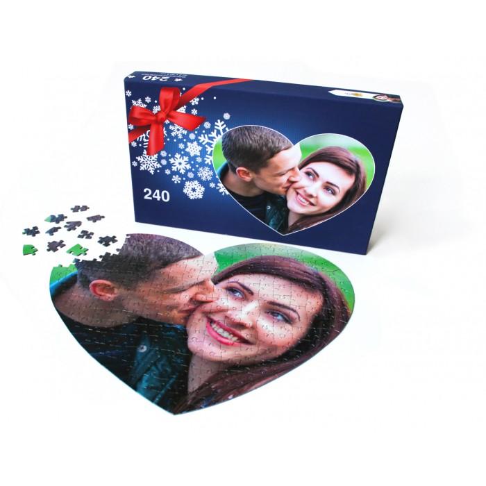 Puzzle Photo Personnalisé 240 pièces Coeur