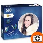 PP-Photo-Rond-500 Puzzle Photo Personnalisé 500 pièces Rond