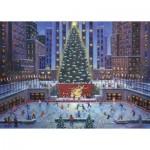 Puzzle  Ravenburger-19563 Noël à New-York