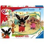 Ravensburger-03047 Puzzle Géant de Sol - Bing