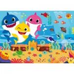 Ravensburger-03067 Puzzle Géant de Sol - Baby Shark