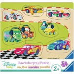 Ravensburger-03686 Puzzle en Bois - Cars