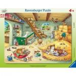 Ravensburger-05092 Puzzle Cadre - Animaux de la Ferme