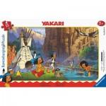 Ravensburger-05141 Puzzle Cadre - Yakari