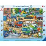Ravensburger-05142 Puzzle Cadre - Chantier
