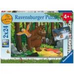 Ravensburger-05227 2 Puzzles - The Gruffalo
