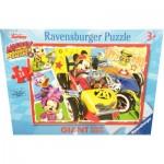 Ravensburger-05331 Puzzle Géant de Sol - Mickey