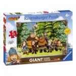 Ravensburger-05462 Puzzle Géant de Sol - Wickie le Pirate
