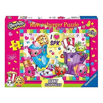 Ravensburger-05475 Puzzle Géant de Sol - Shopkins