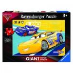Puzzle  Ravensburger-05518 Tapis Géant de Sol - Cars 3